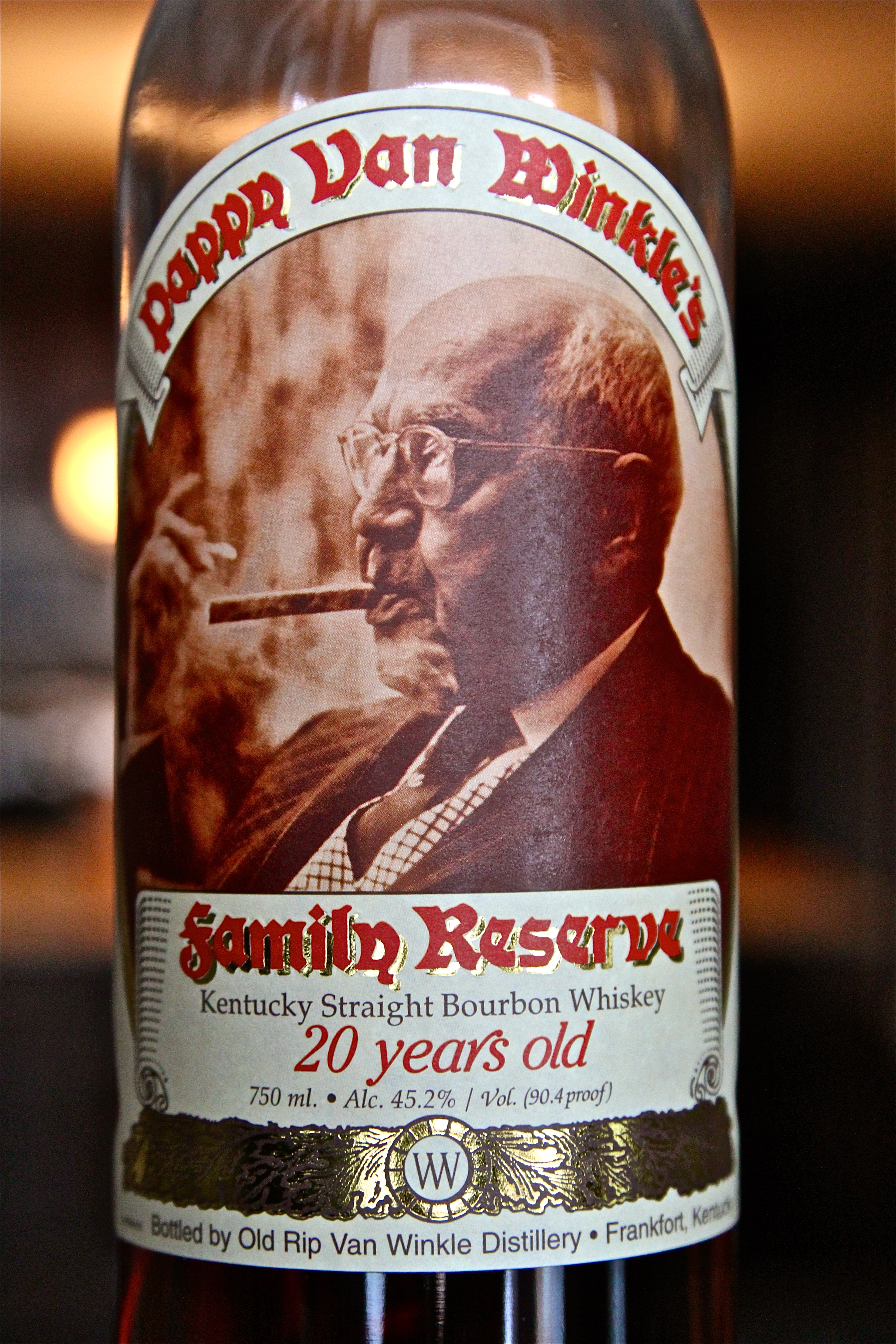 Pappy Van Winkle's Family Reserve 20 Year Old Kentucky